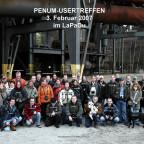 Penum-Usertreffen 03.02.2007 - Landschaftspark Duisburg