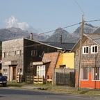 Chaitén mit Vulkan