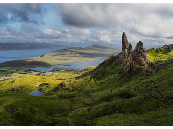 Old man of Storr, Skye, Schottland