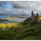 Old man of Storr, Skye, Schottland